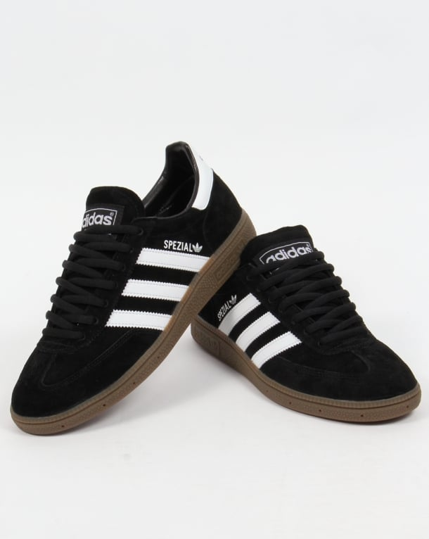 Interactuar Miguel Ángel Ilegible  Adidas Spezial Trainers Black/White,originals,shoes,mens