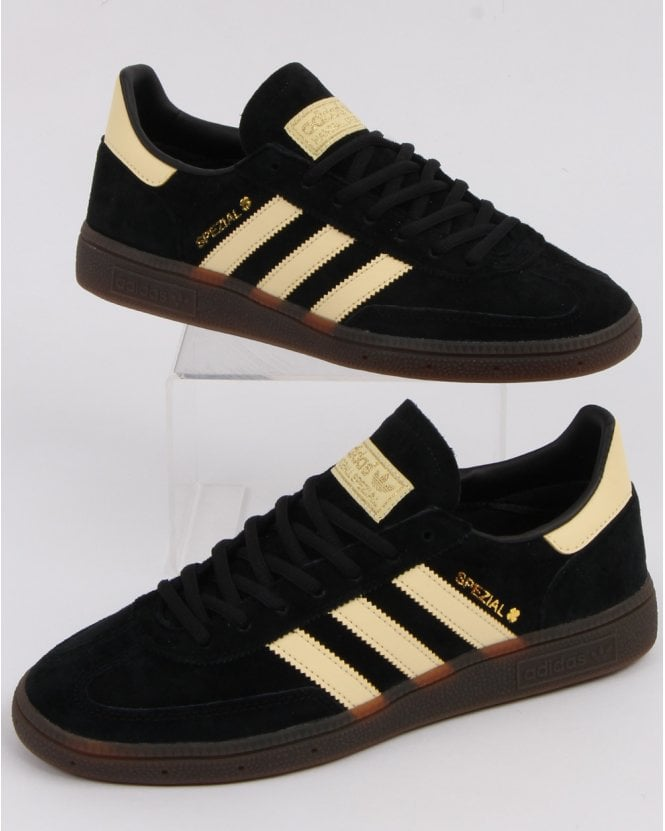59106d03642 Adidas Spezial Trainers Black Yellow Oslo