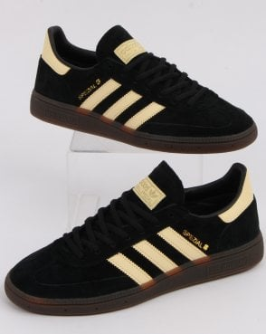 sale retailer e0002 68ac0 adidas Trainers Adidas Spezial Trainers Black Yellow Oslo