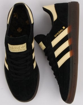 83f2c2452416af adidas Trainers Adidas Spezial Trainers Black Yellow Oslo