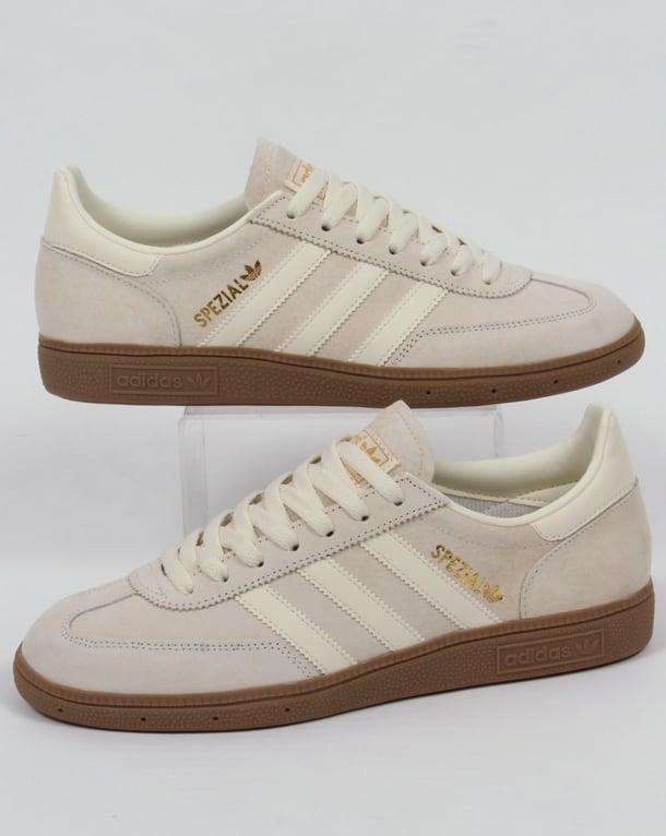 cream adidas trainers