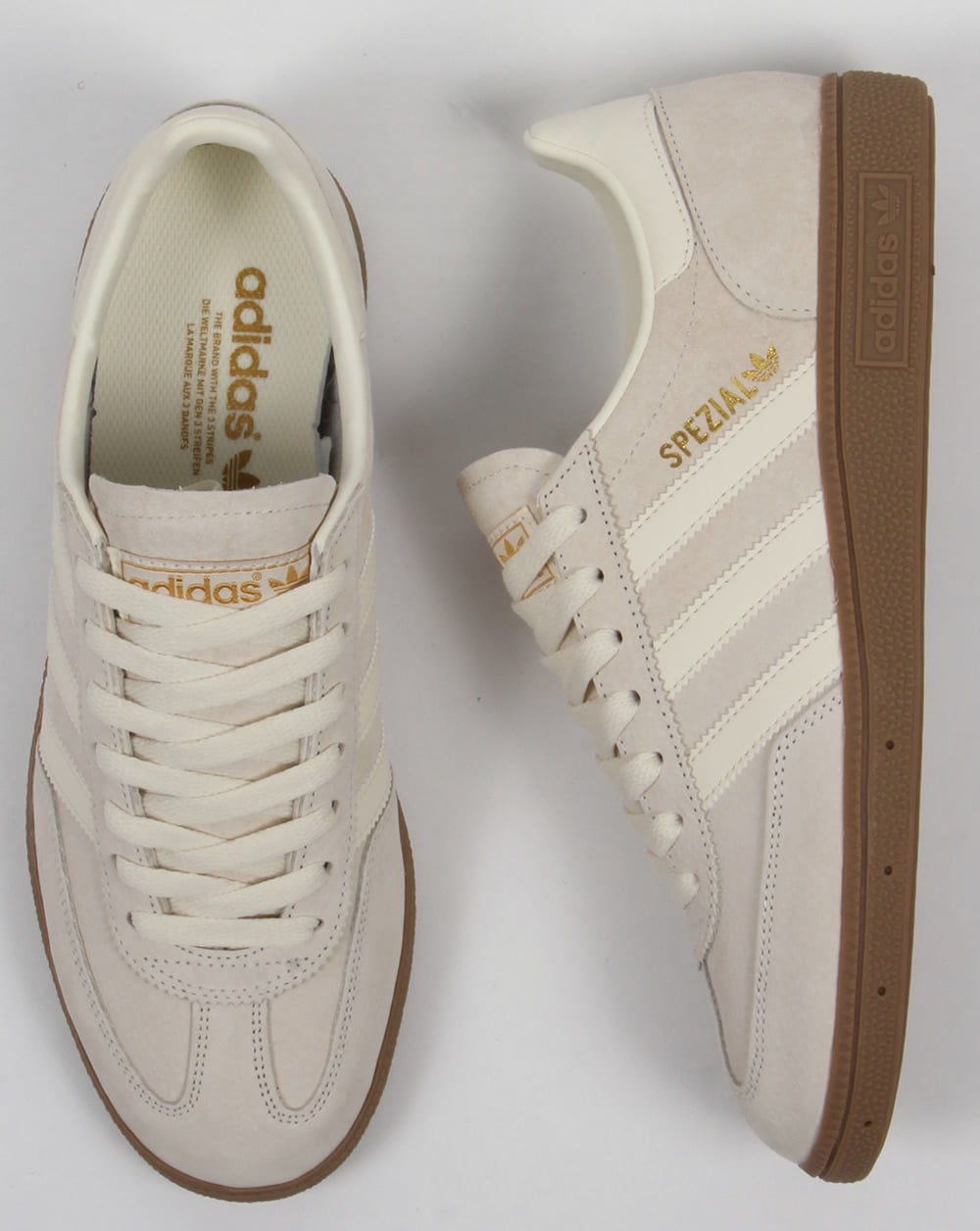 adidas spezial trainers white white suede mens. Black Bedroom Furniture Sets. Home Design Ideas