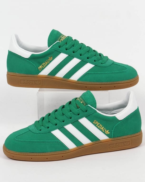 Adidas Spezial Trainers Green White