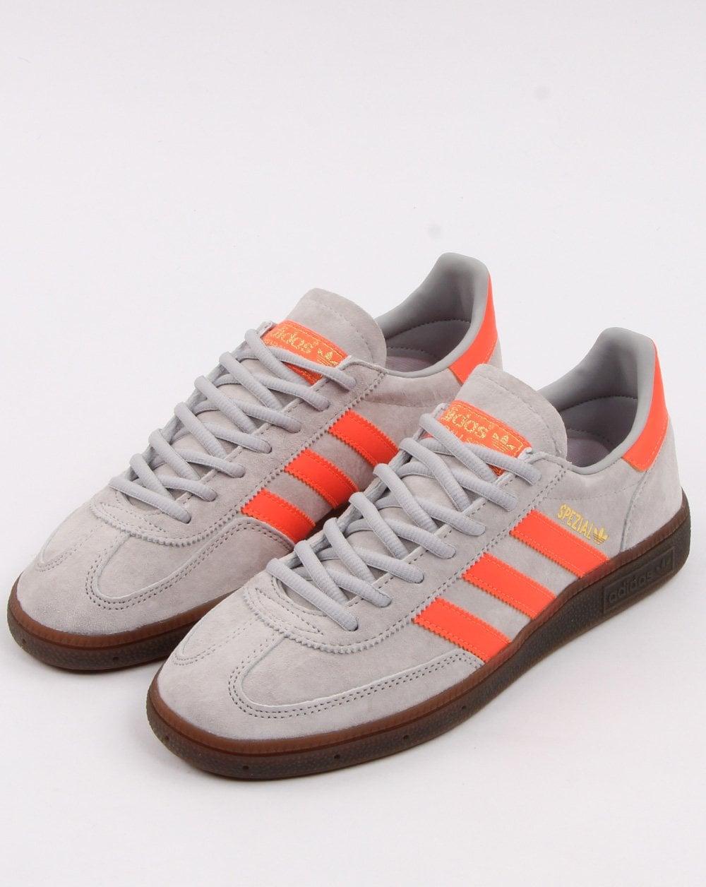 adidas spezial grey orange off 65
