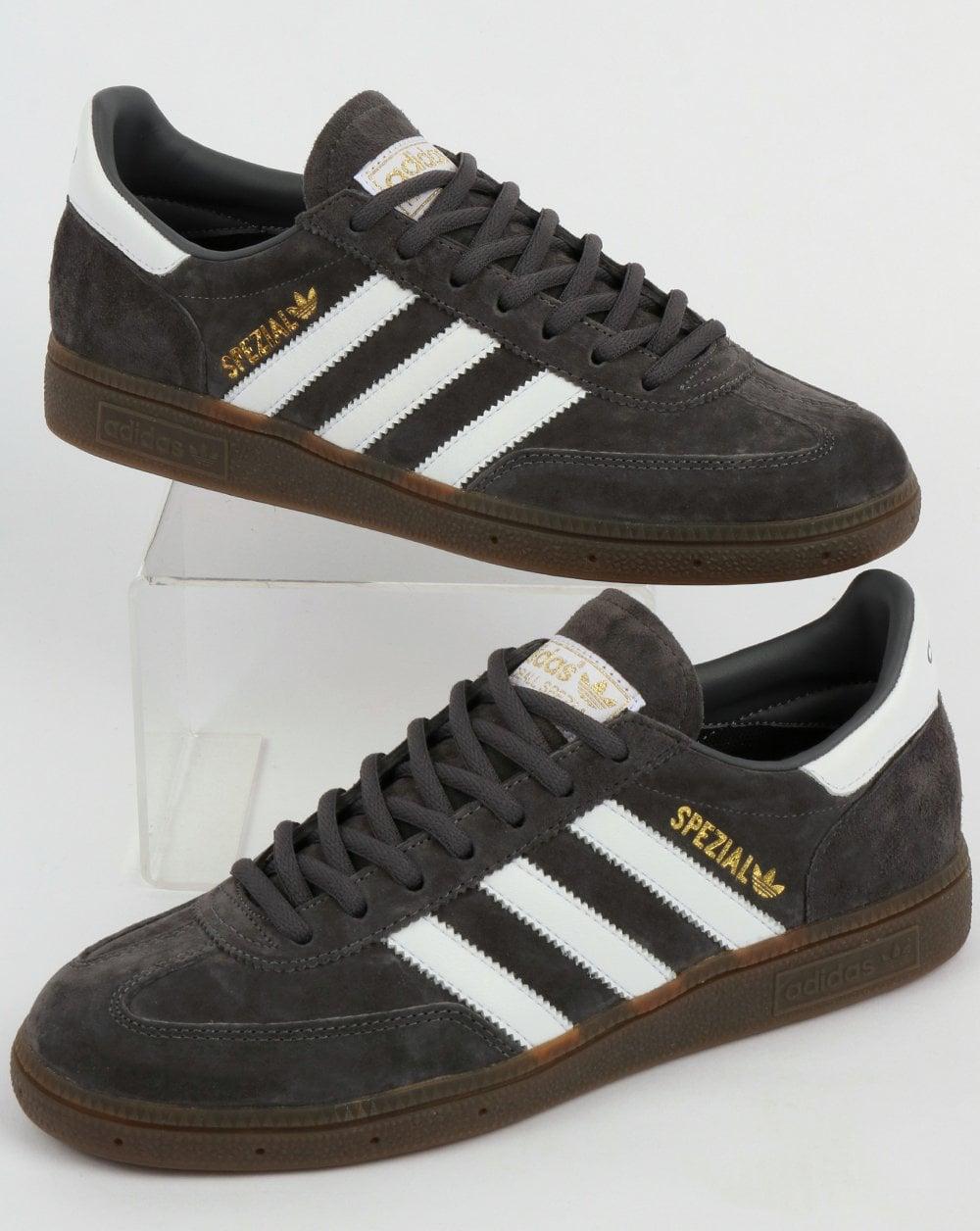 Adidas Spezial Trainers GreyWhite