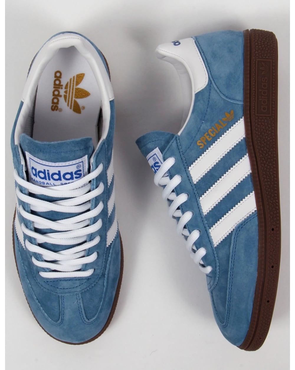 buy popular a9389 05f9f Adidas Spezial Trainers Handball Royal Bluewhite