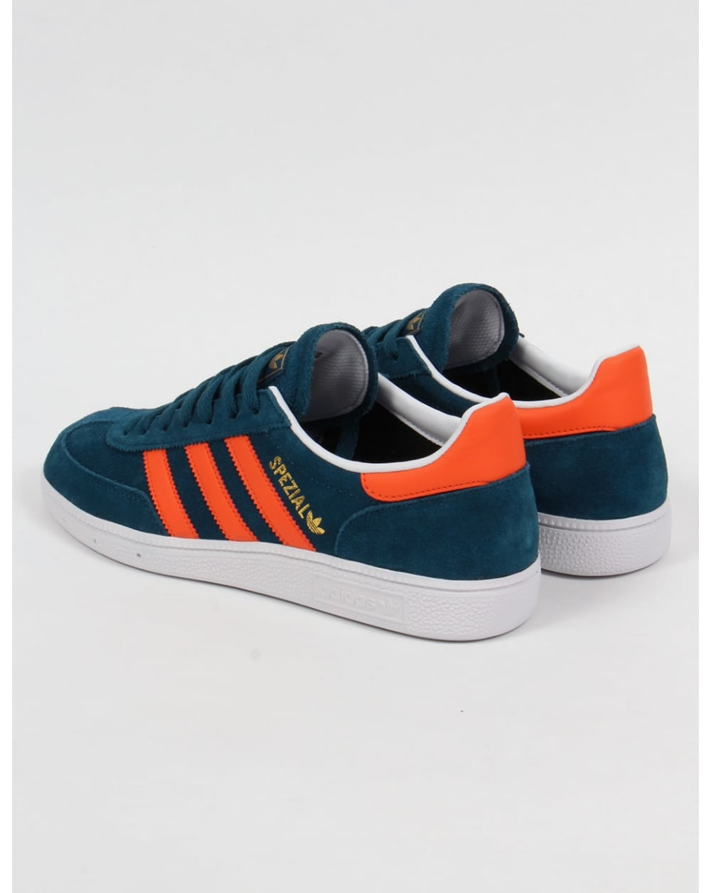 Adidas Orange Blue Shoes