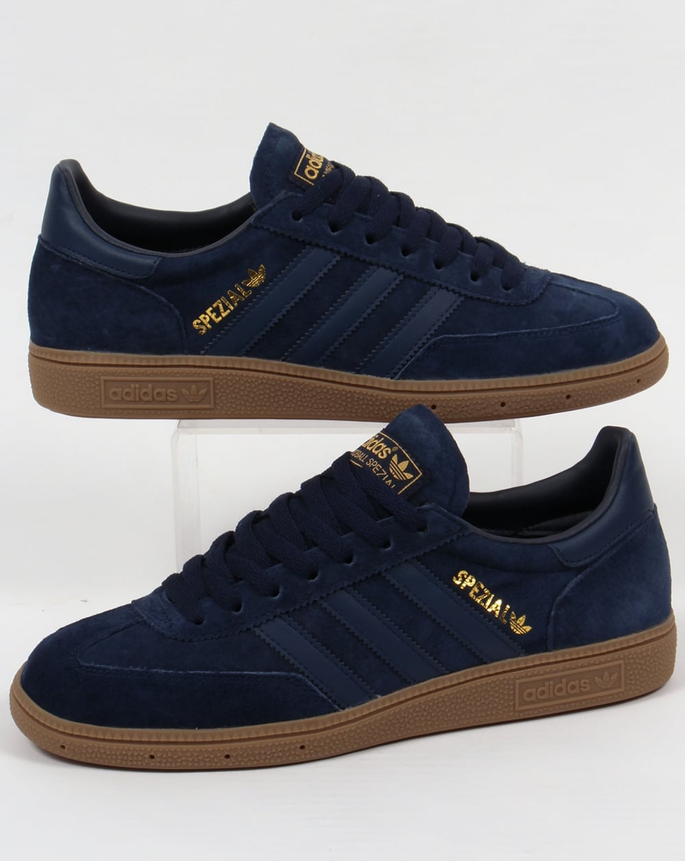 outlet boutique a few days away newest collection Adidas Spezial Trainers Navy/Gum