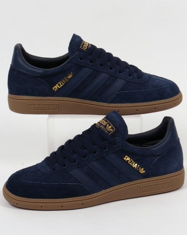 Adidas Spezial Trainers Navy/Gum