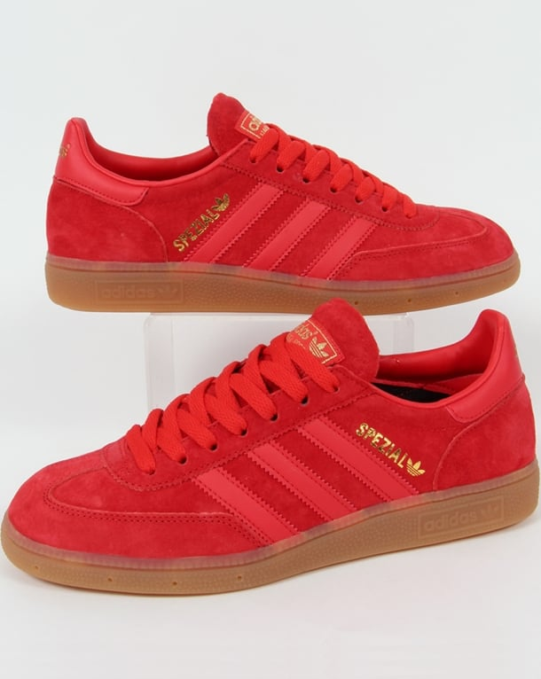 Adidas Spezial Trainers Red/Red