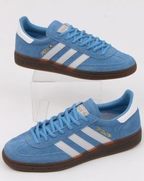 adidas Trainers Adidas Spezial Trainers Sky Blue white be648fae0898