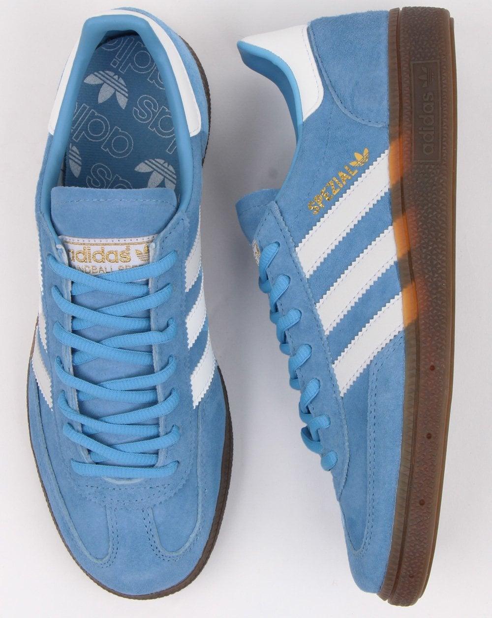 Adidas Spezial Trainers Sky Blue/white