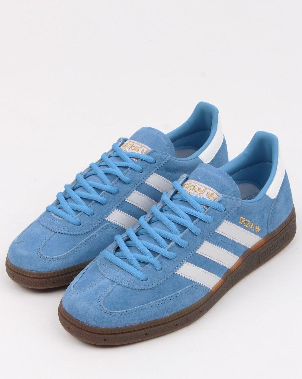Adidas Spezial Trainers Sky Bluewhite