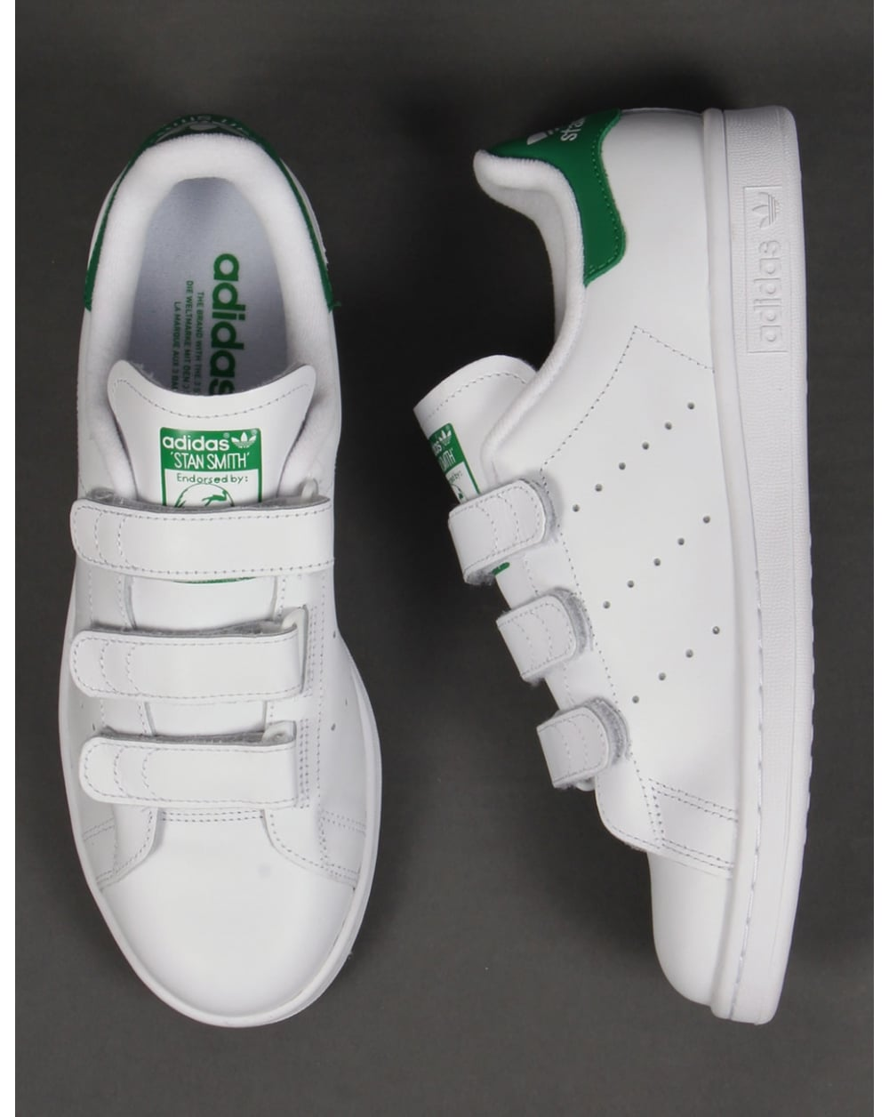pretty nice 07d6f c41f9 Adidas Stan Smith Cf Trainers White/green