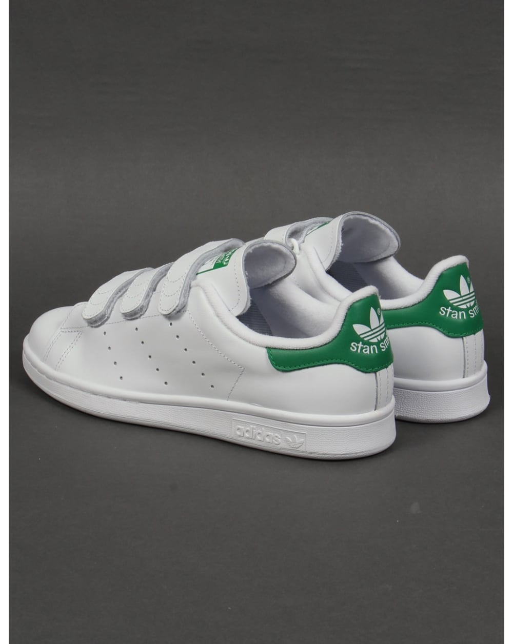adidas stan smith cf trainers white green originals shoes. Black Bedroom Furniture Sets. Home Design Ideas