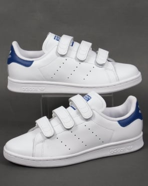 Adidas Trainers Adidas Stan Smith CF Trainers White/Royal Blue