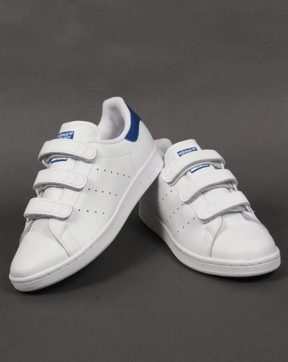 adidas mens climacool velcro white trainers