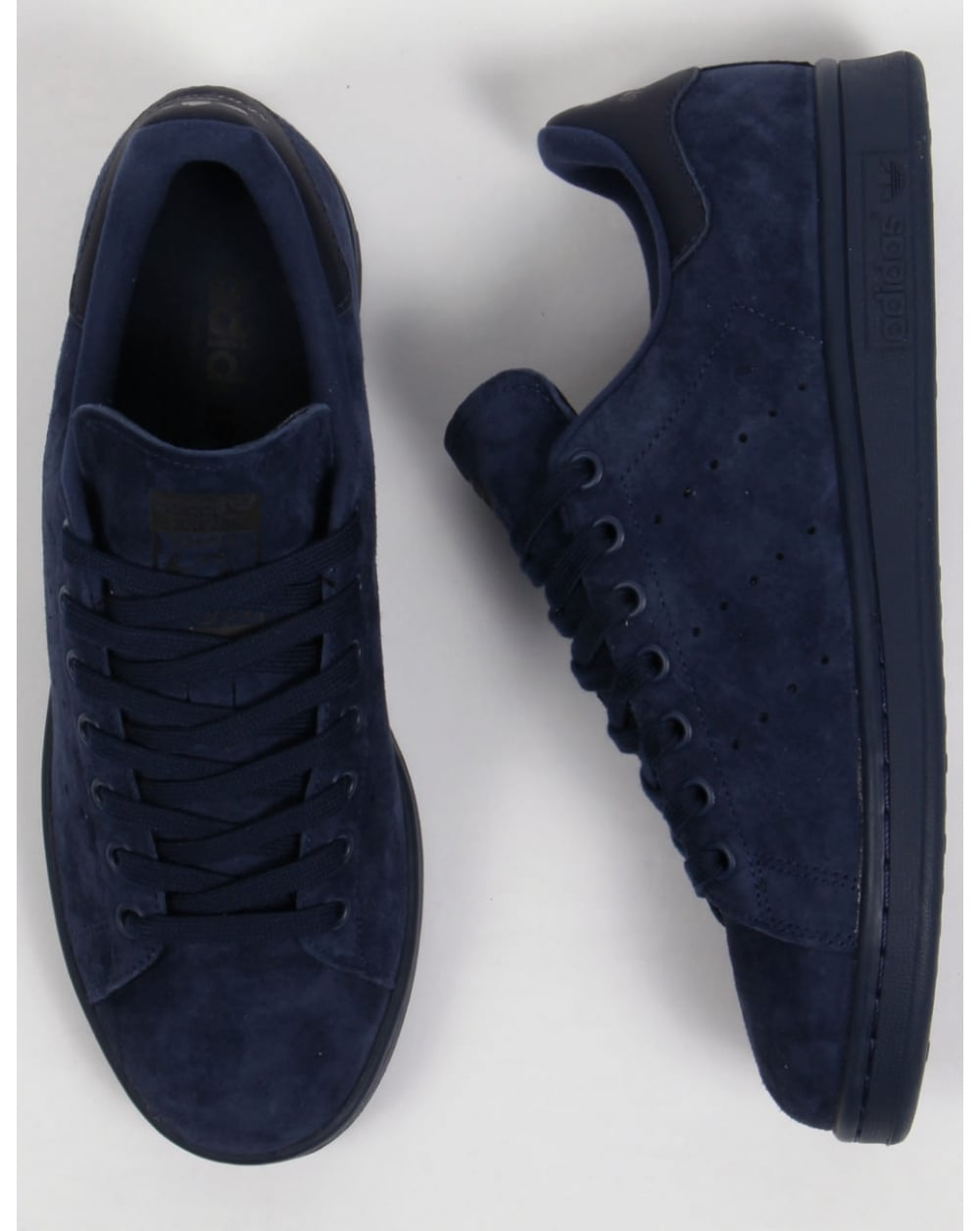 new products a8611 702ca Adidas Stan Smith Trainers Navy/navy/black