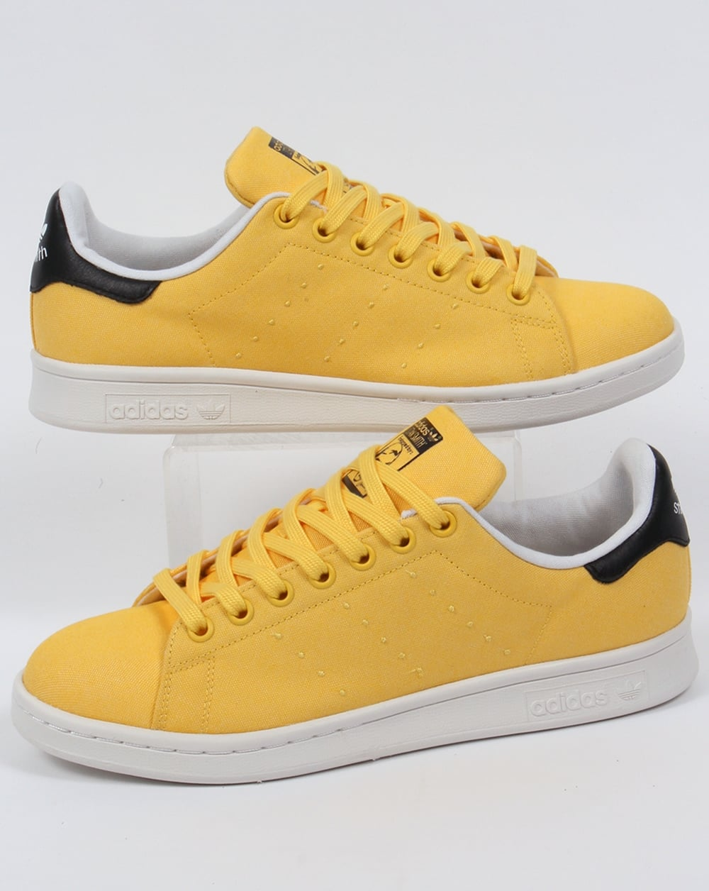 Adidas Stan Smith Black And Yellow