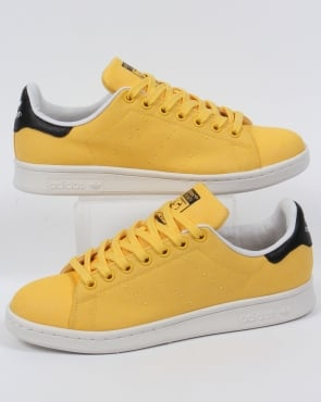 Adidas Trainers Adidas Stan Smith Trainers Spring Yellow
