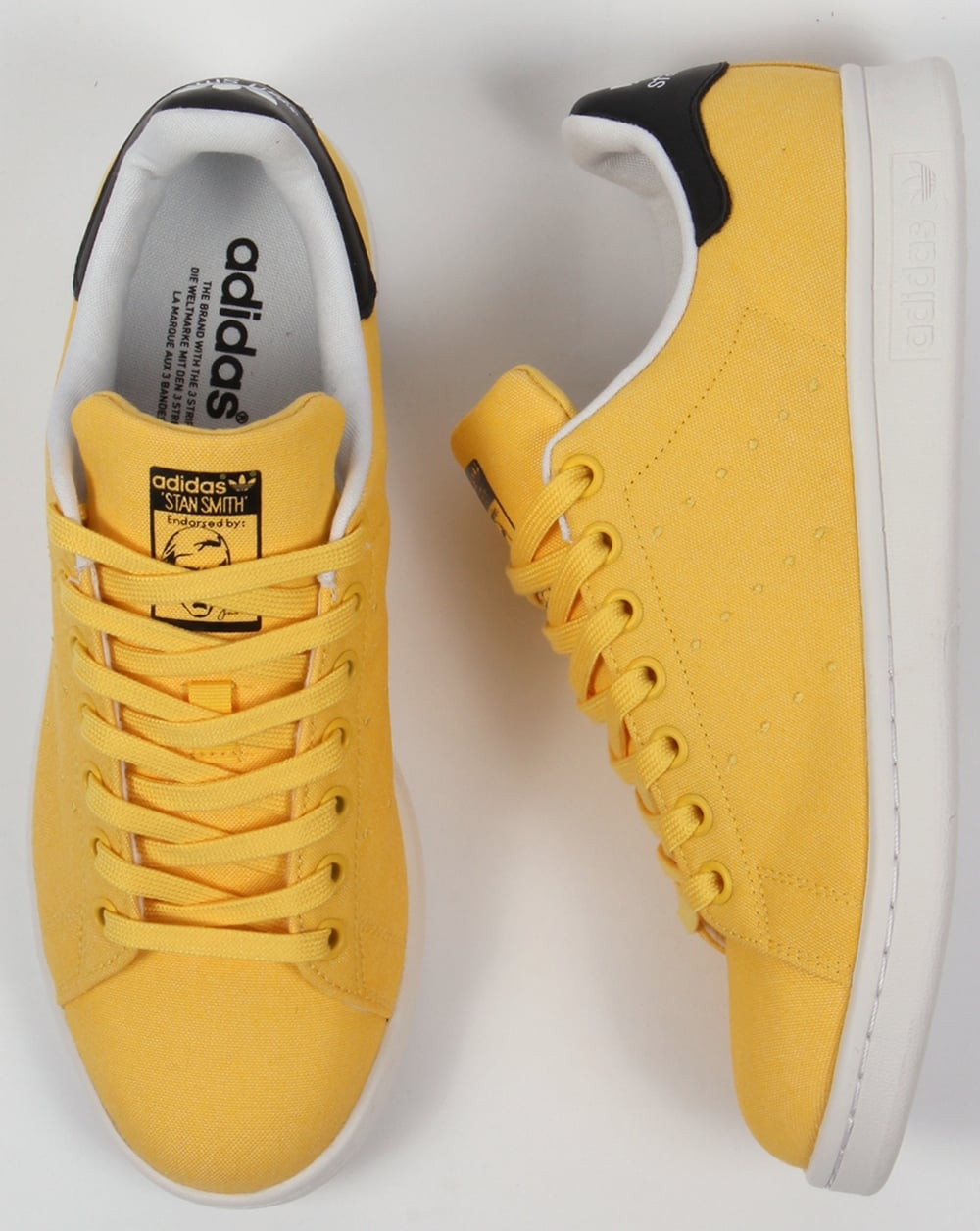 buy popular 2fadd 4f09b Adidas Stan Smith Trainers Spring Yellow
