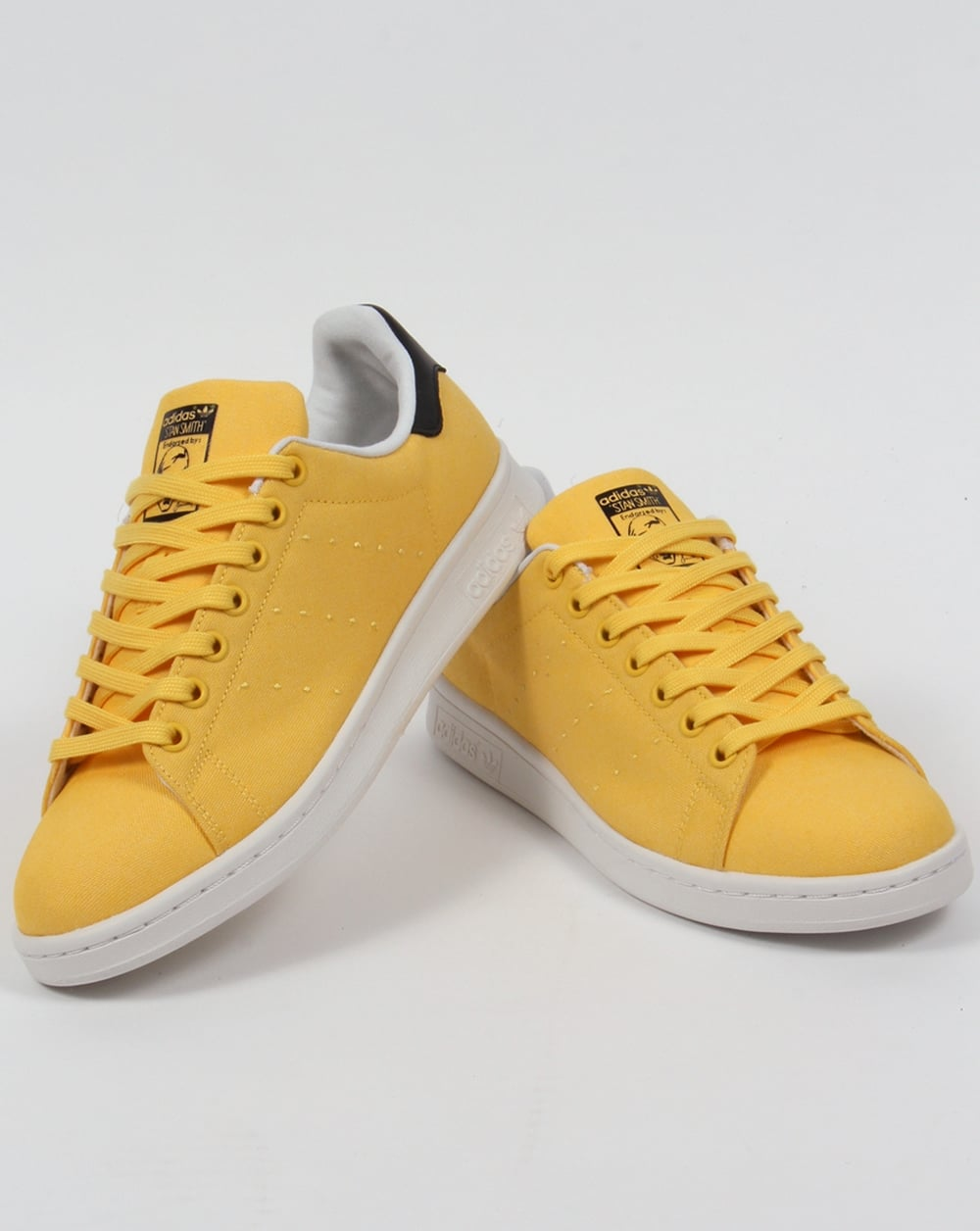 5139e760b53f Adidas Stan Smith Trainers Spring Yellow