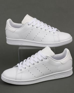 adidas Trainers Adidas Stan Smith Trainers Triple White