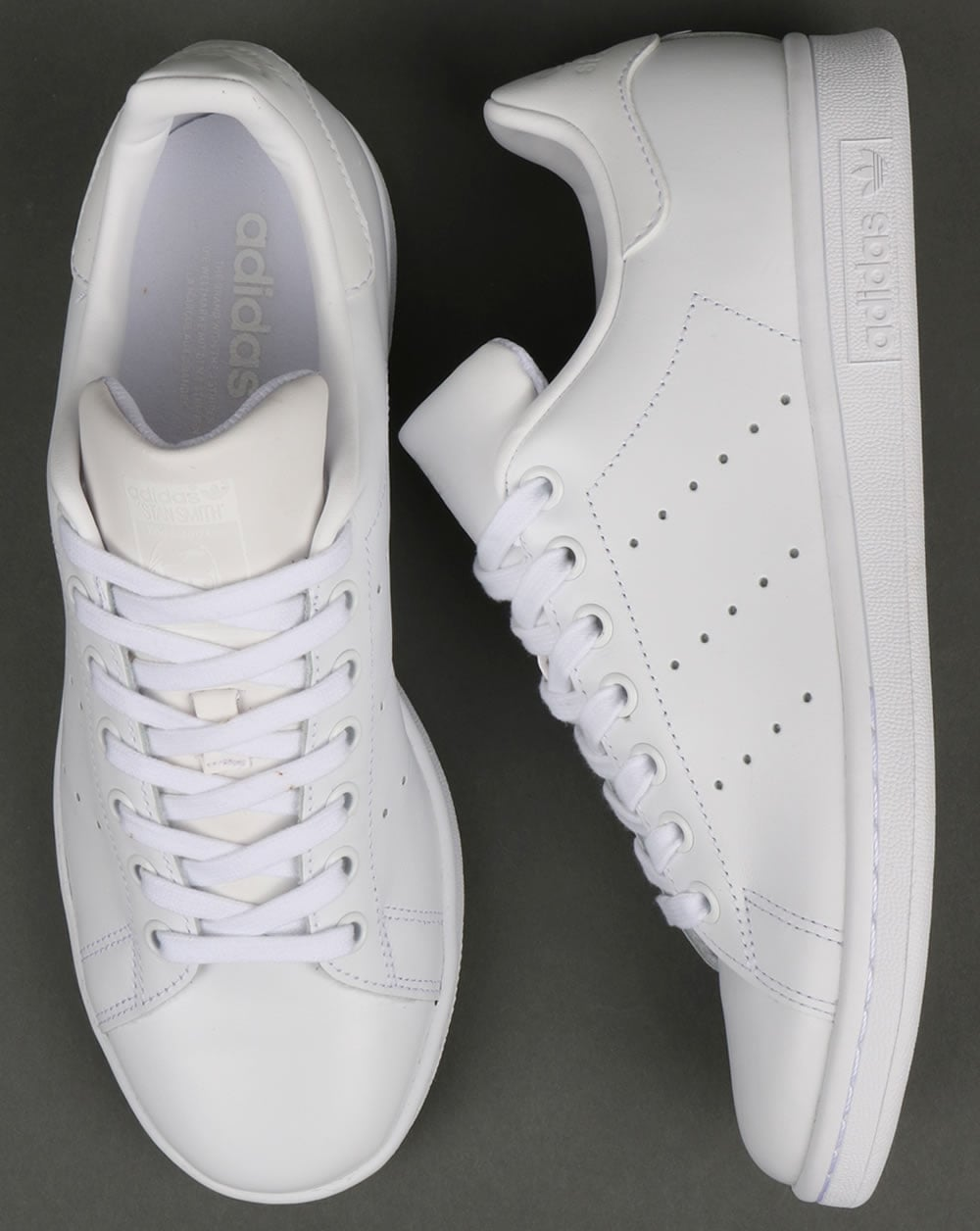 super popular b9624 8f047 Adidas Stan Smith Trainers Triple White
