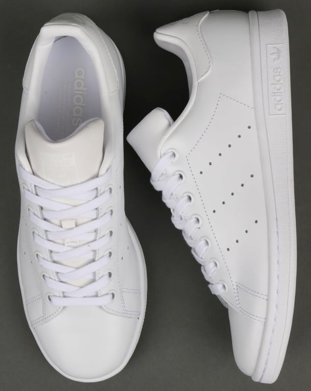 super popular 82262 6c70b Adidas Stan Smith Trainers Triple White