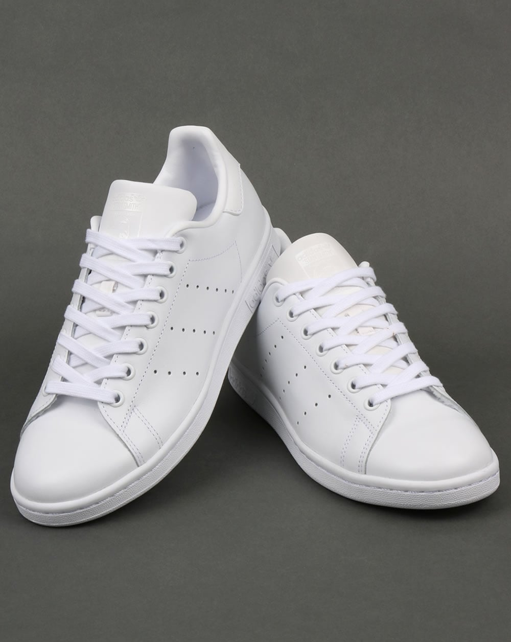 Adidas Stan Smith Trainers Triple White,originals,shoes ... Caterpillar Shoes