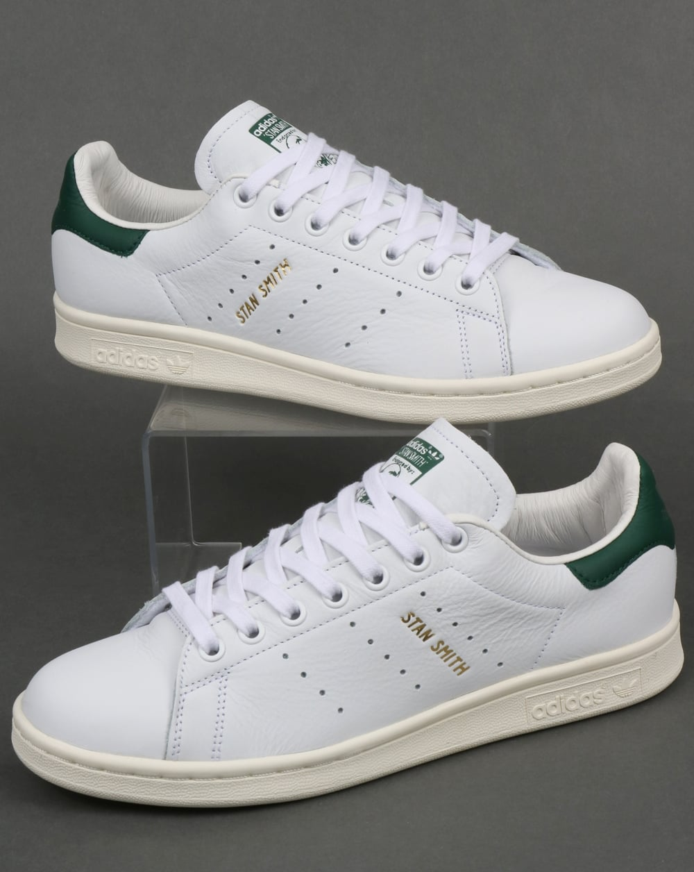 detailed look 4ba17 782dc Adidas Stan Smith Trainers White/Collegiate Green