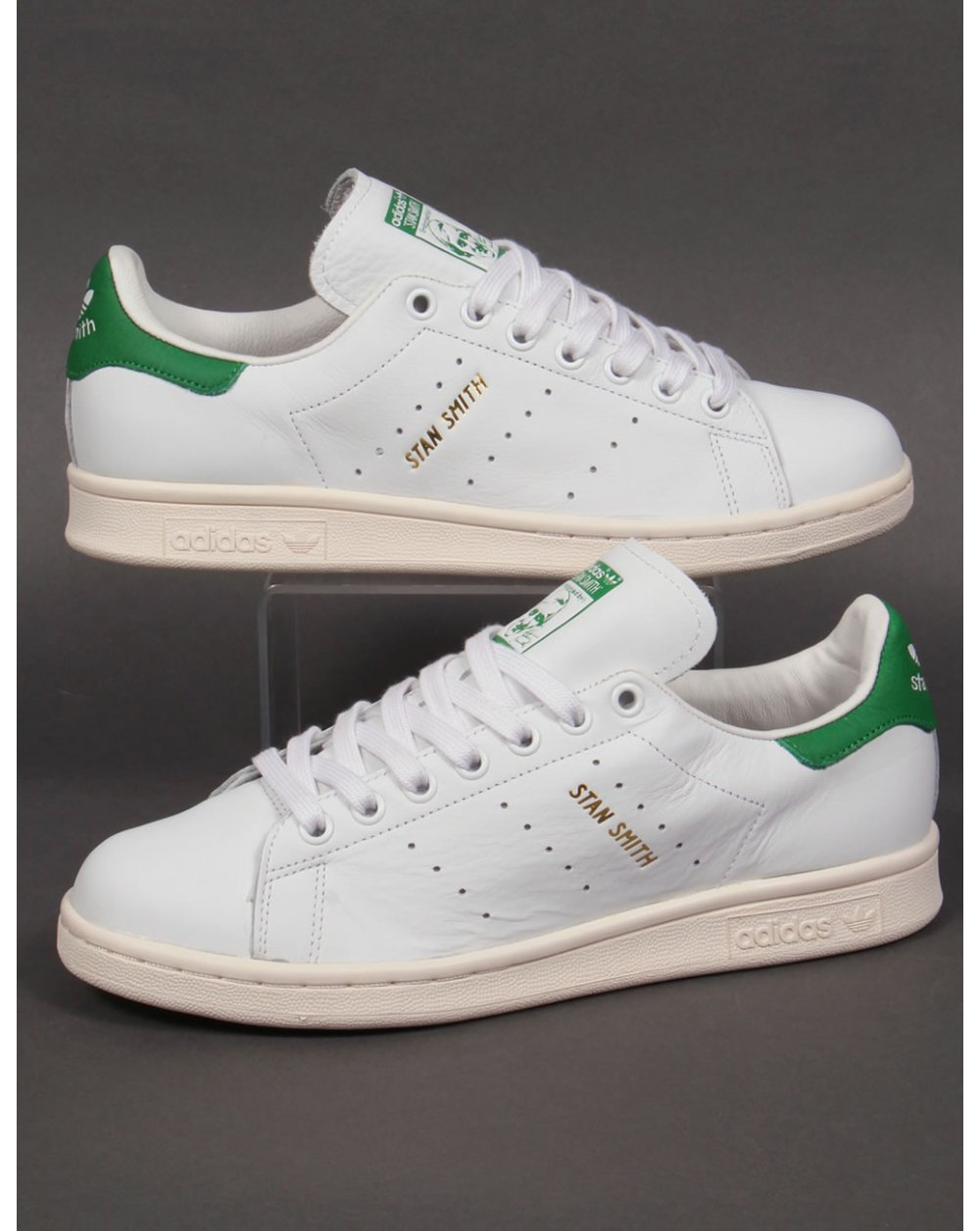 3ccc699f19d1ea Adidas Stan Smith Trainers White green gold,originals, mens, shoes,