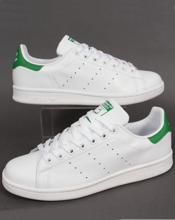Adidas Trainers Adidas Stan Smith Trainers White/Green