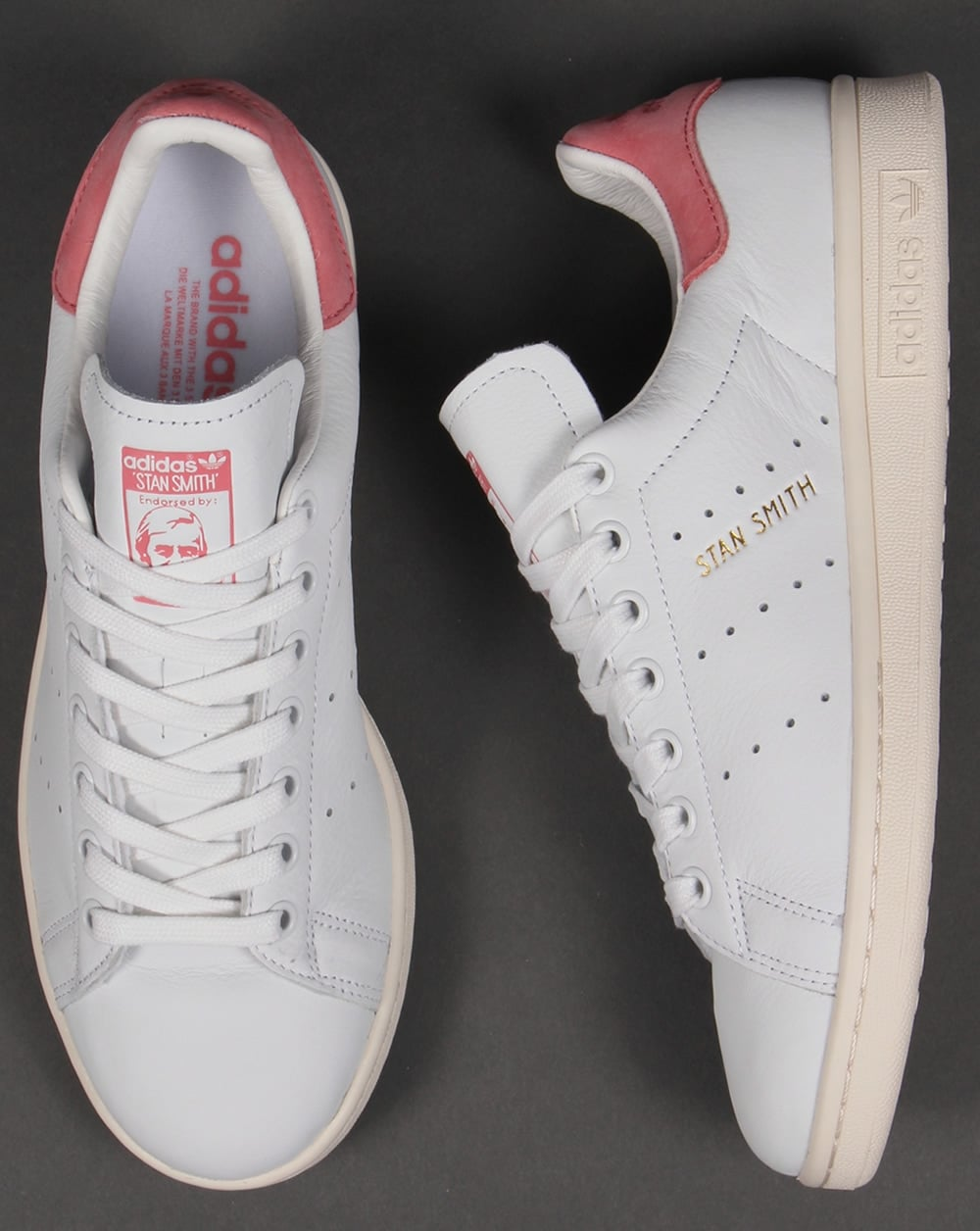 Stan Smith White Pink
