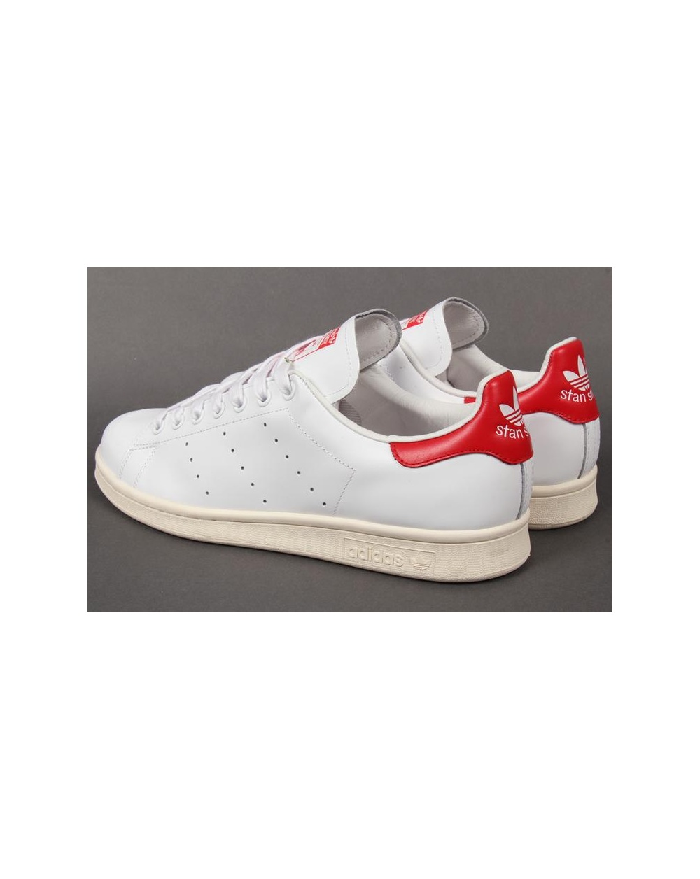 adidas stan smith trainers white red originals stan smith 2. Black Bedroom Furniture Sets. Home Design Ideas