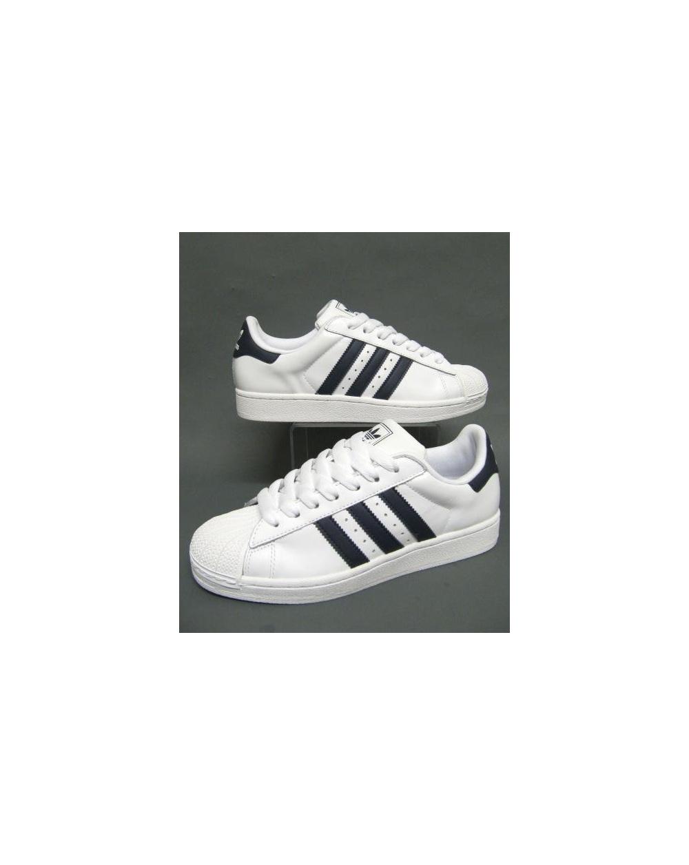 Adidas Superstar 2 Hvit Marine UH9hq3T3i2