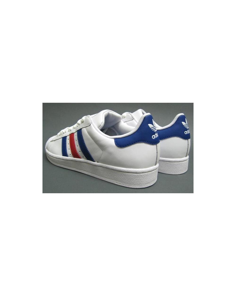Adidas Superstar 2 Blå Striper IaKpKzAg