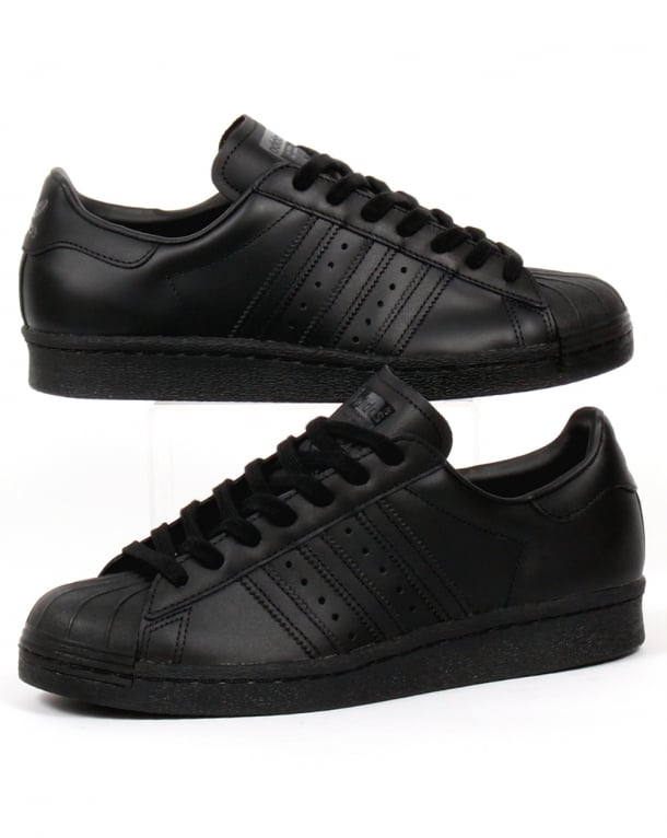 Adidas Superstar Black On Black