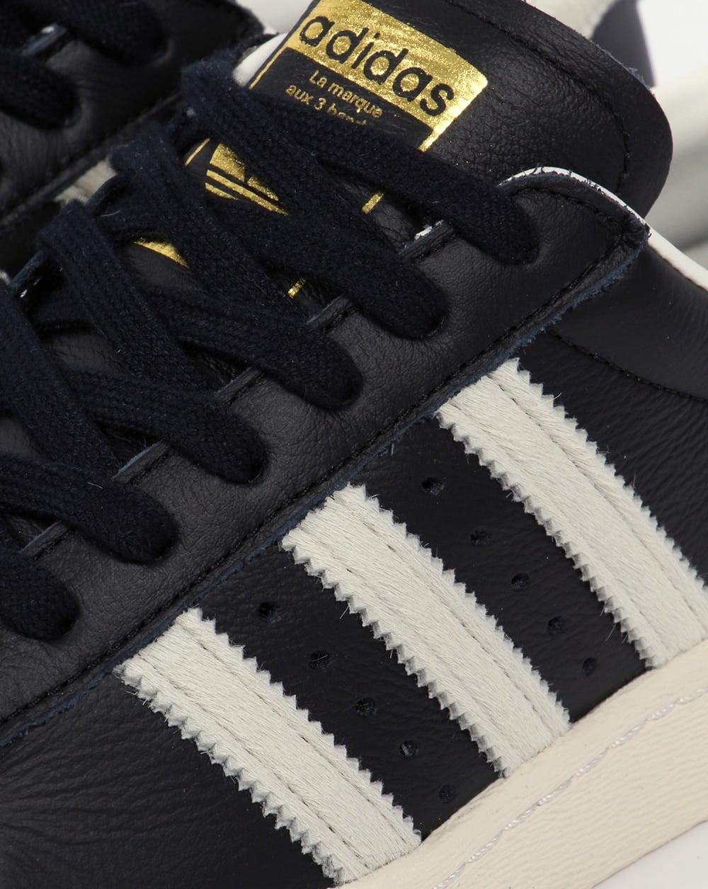 Adidas Superstar 80s Sort Og Gull LjZmaQS