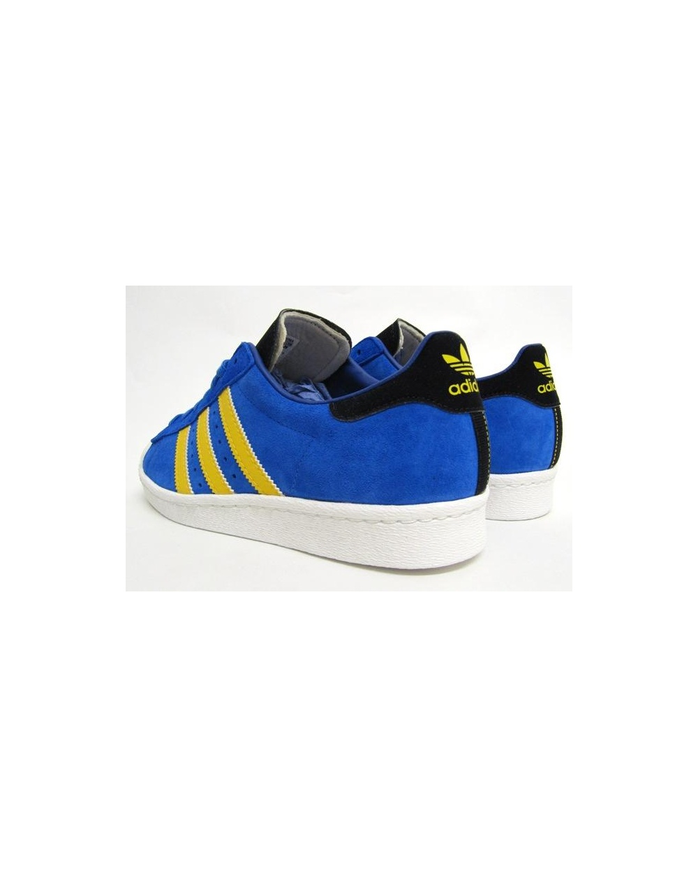 the best attitude c1670 3f57b Adidas Superstar Blue And Yellow
