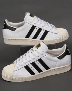 Adidas Trainers Adidas Superstar 80s Trainers White/Black