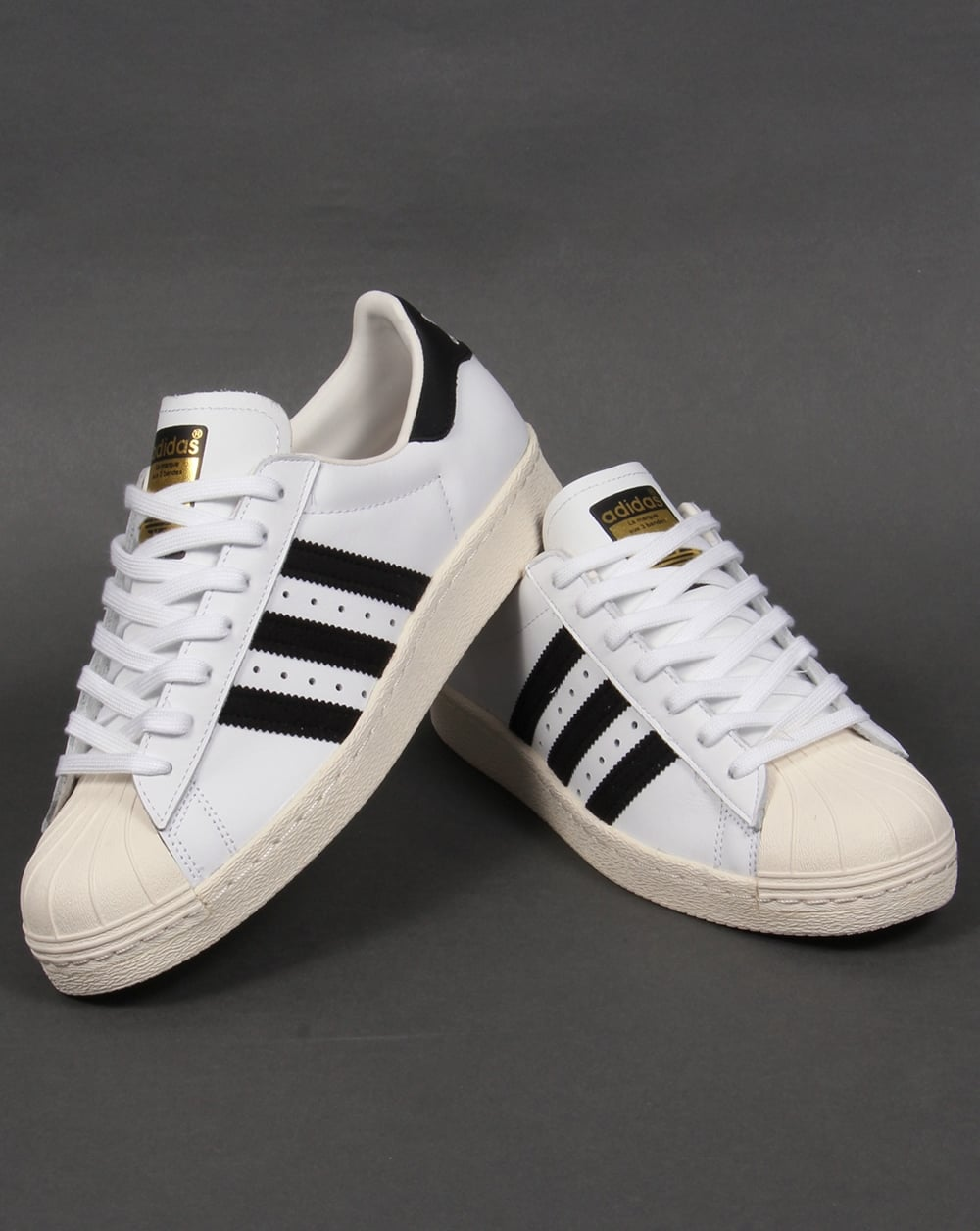 adidas superstar 80s trainers white black originals shell toe shoe. Black Bedroom Furniture Sets. Home Design Ideas