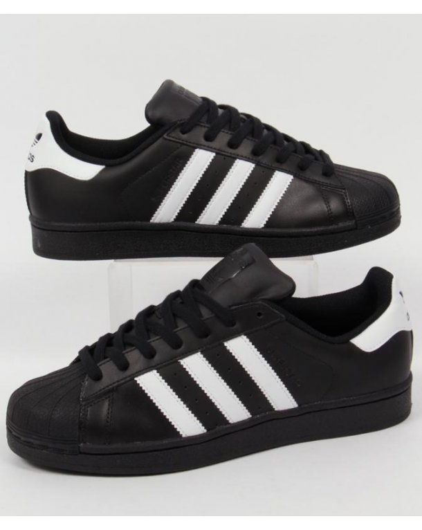 Get Nice Superstar 80s White Black Chalk Kyle's Sneakers SymCel