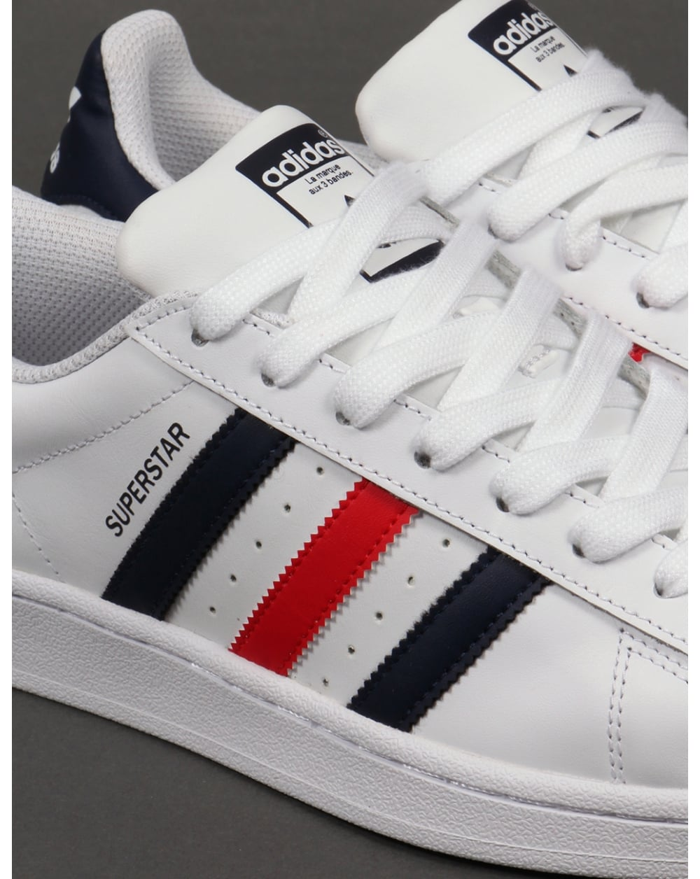 real adidas superstar red dark blue c1b02 6c273
