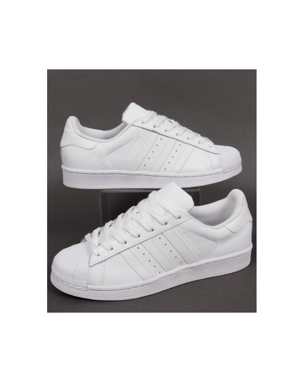 reputable site 2eb14 68201 adidas Trainers Adidas Superstar Foundation Trainers White white