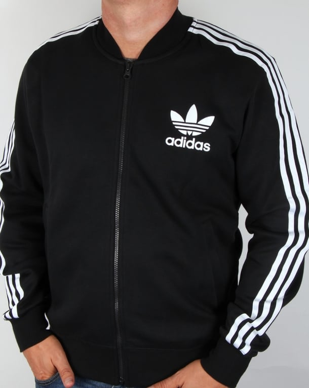 Adidas Superstar Large Logo Track Top Black