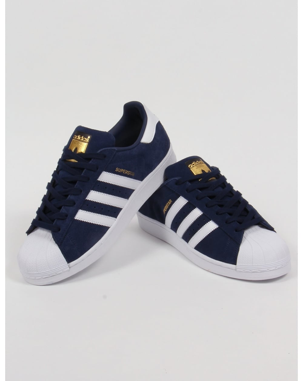 adidas superstar navy
