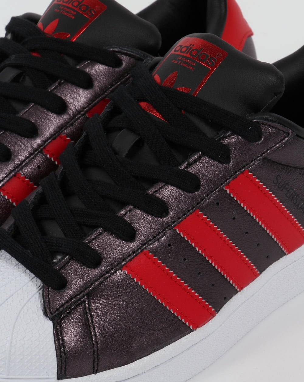 Adidas Superstar Rojo Para Hombre D5OIDm3