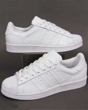 adidas Trainers Adidas Superstar Trainers Triple White
