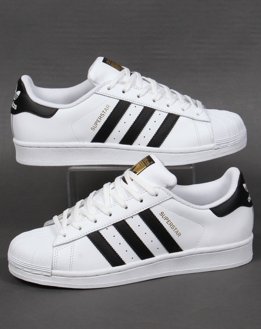 super popular b7092 388a4 adidas Trainers Adidas Superstar Trainers White Black
